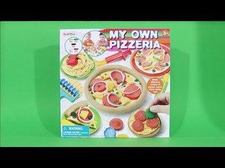 클레이 피자 만들기 점토놀이 my own pizzeria PLAY DOH PIZZA [ 또이 ]