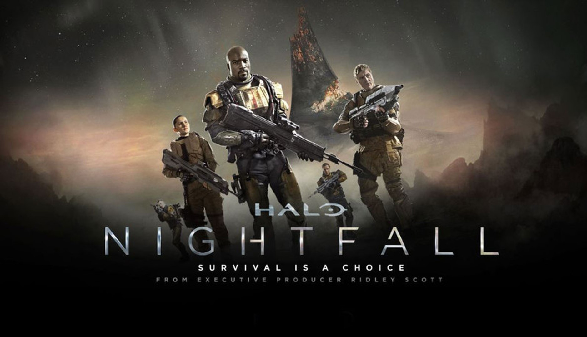 Halo Nightfall Episode 1 It S Only Just Beginning Hd Video Dailymotion