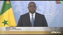 DISCOURS - Macky SALL, Discours de Présentation de vœux à la nation du Sénégal
