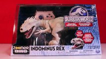 Jurassic World Indominus Rex ZOOMER DINO vs Oynx, MiPosaur Robotic Dinosaurs Comparison + Toy Revie