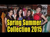 Launch Of Hue Stores Spring Summer Collection 2015   Mugdha Godse, Urvashi Rautela, Pooja Chopra
