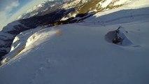 Descente en snow solo, Orres  2016