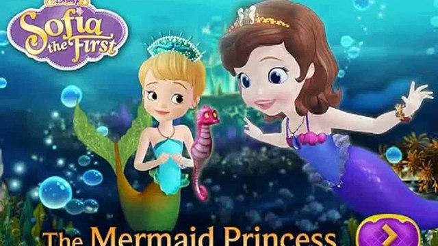 Sofia the First Games for Kids – The Mermaid Princess - Disney Sofia - New Princess Games