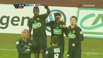 0-1 Traoré Goal France  Coupe de France  Round 10  - 20.01.2016, Évian Thonon Gaillard 0-1 AS Monaco