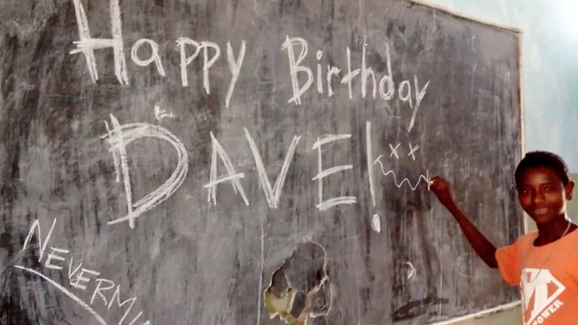Ethiopia kids wish Dave Grohl a happy birthday with Smells Like Teen Spirit