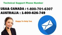 Windows live mail Technical support Phone number 1-800-701-6307