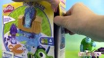 Pâte à modeler Play Doh Coiffeur Monstres et Cie Coiffures ♥ Monstres Academy ⓋⒾⒹéⓄ ⓋⒾⒹéⓄ