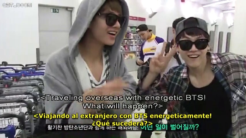 Sub Español] BTS NOW2 in Europe & America (1/6) - video dailymotion