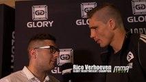 GLORY 22: Lille - Rico Verhoeven talks Benjamin Adegbuyi, wants to fight Badr Hari