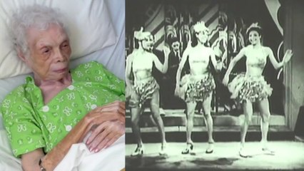 In (1930), 102 y-o Alice Barker Was a chorus dancer during the Harlem Renaissance in the 1930s.