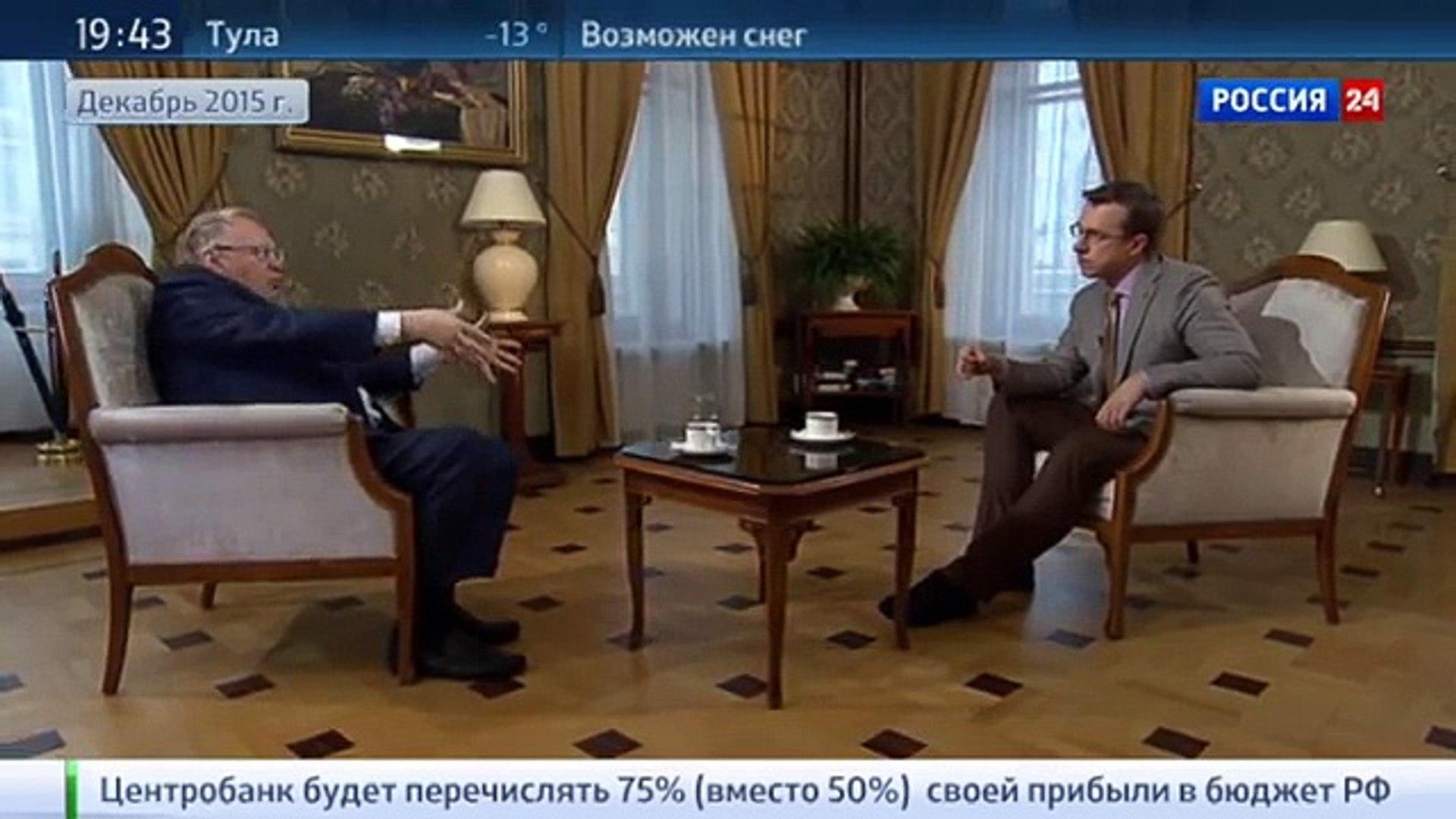 Жириновский: политика в отношении Сирии резко подняла международный авторитет России