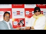 Mithun Chakraborty Felicitated By Big 'Hawaizaada' Heroes @ Big FM Studio
