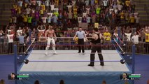 CNZ 2k15 Undertaker vs Seth Rollins One on One Match Saturday night Main Event 2015 (PS4)