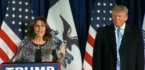 Sarah Palin's Word Salad-ey Endorsement of Donald Trump.