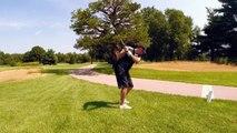Golfer Has Counterproductive Swings