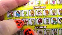 Giant Halloween Pumpkin Play Doh Surprise Egg - Lego - My Little Pony - Shopkins - Unicorno