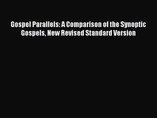 what is the meaning of synoptic gospels
