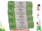80 Litre x 80 BioBag Compostable Biodegradable Kitchen Food / Garden Waste Caddy Bin Liner