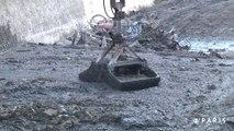 Mise à sec du canal Saint-Martin. Episode 4 : le ramassage des déchets