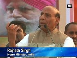 No one is safe in West Bengal: Rajnath Singh