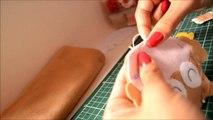 Como fazer peças artesanais em feltro (parte 2)