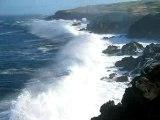 vagues côte ouest Réunion