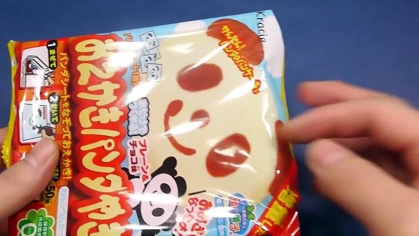 Trò chơi làm bánh hình gấu Panda bằng đồ chơi nấu ăn của Nhật Bản | Godialy.com