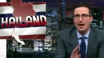 John Oliver answers to Thailand John Oliver
