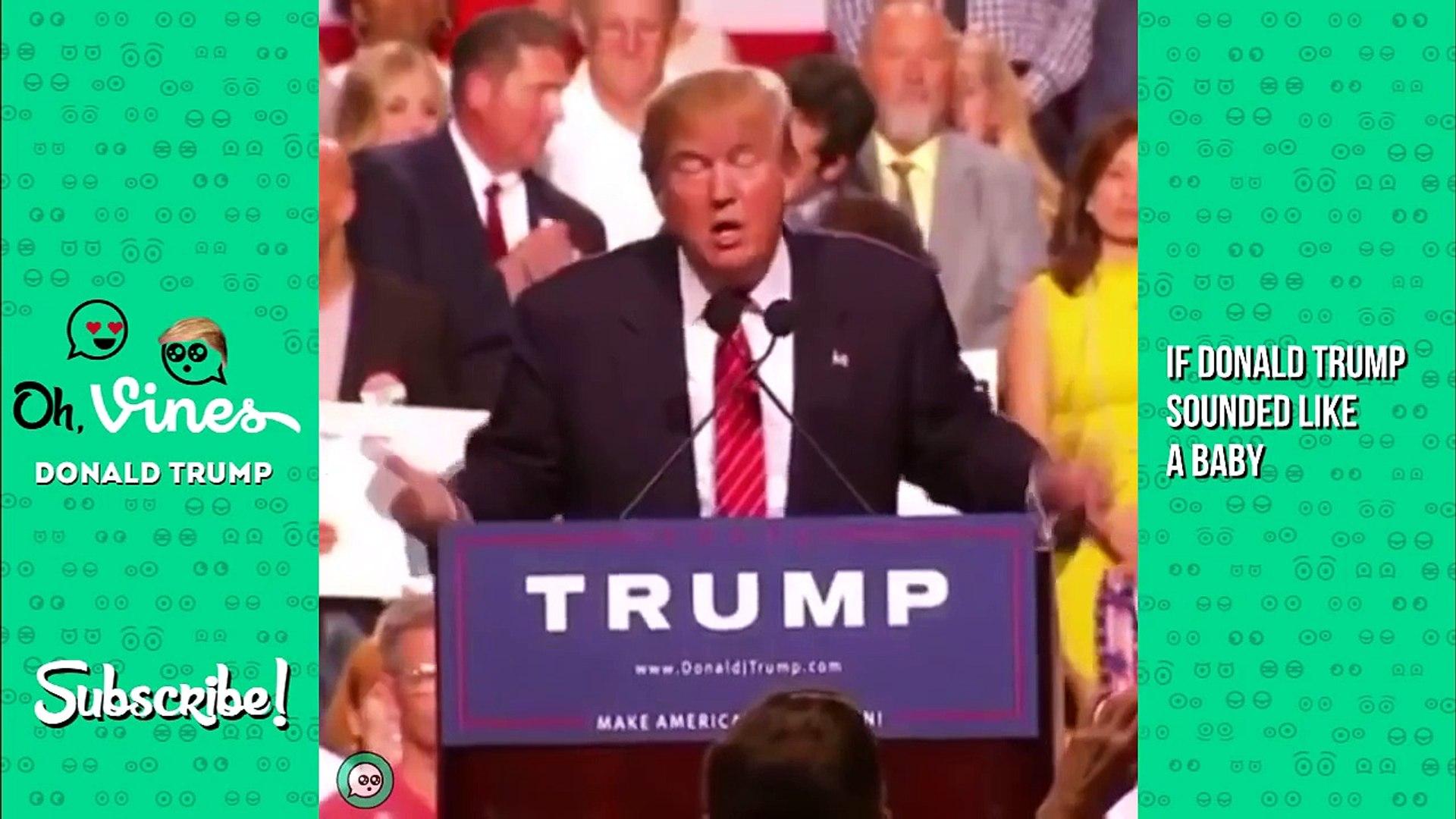 Funny Donald Trump Vines ★ Donald Trump Best Moments | Best Donald Trump Vine Compilation