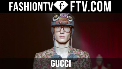 Gucci Fall/Winter 2016-17 Milan Men's Collection | FTV.com