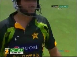Shaid Afridi 76 runs vs West Indes