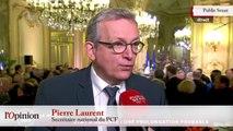 Pierre Laurent : «Je crois qu'il faut lever l'état d'urgence»