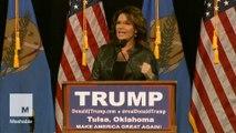 Sarah Palin blames son's arrest on PTSD, President Obama