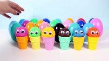 Play Doh Surprise Glaces Vidéo Play-Doh Cornets De Crème Glacée Surprise Œufs Nourriture De Jeu Jouet Vidéos