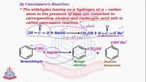 Reactions of Carbonyl Compounds ( Cannizzaro's Reaction )