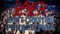 SLAYER - Repentless North American Tour w/ TESTAMENT + CARCASS (World Music 720p)