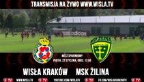 Wisła.TV: Wisła Kraków - MSK Zilina [Na Żywo]