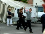 dany boon en tournage a bergues 59