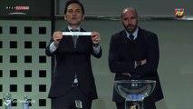 Sorteo Copa y reacciones Javier Bordas emparejamiento Athletic Club-FC Barcelona