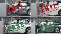 DEADLY CRASHES - Crash Tests Accident Car - IIHS
