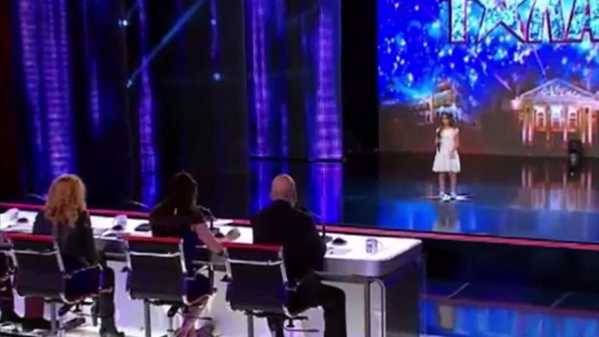 Real Talent Little Girl (Поля Иванова) Singing \