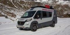 La aventura en la nieve de la Fiat Ducato 4x4 Expedition