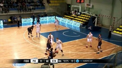Action du  match STB - Piéno