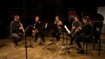 Nino Rota : Concerto pour cordes par le Quintette de saxophones de la Garde Républicaine   Le live de la matinale