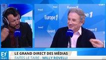 Willy Rovelli fête ses retrouvailles avec Michel Drucker