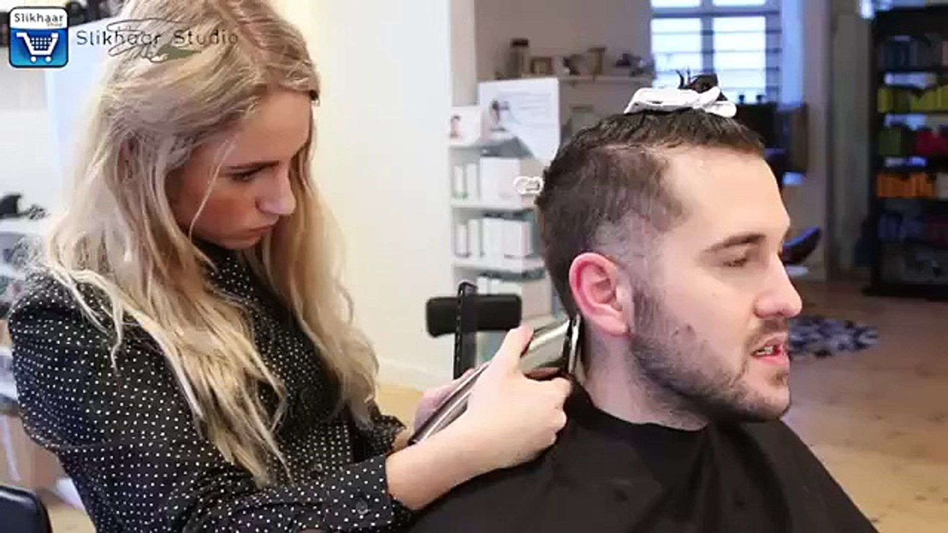 Men\'s Hair Inspiration | Urban & Edgy Hairstyle | Curly