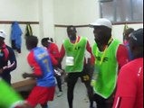 Ambiance après le match RDC - Angola 4-2 ba joueurs ba sepeli ndeti na film