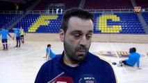 Ricard Muñoz i Marc Gual, prèvia FCB Lassa-ICG Software Lleida