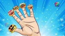 Candy Pop Stick Cartoon Finger Family Nursery Rhymes   Christmas Songs for Kids Finger Fam