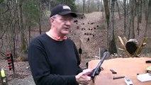Shooting Suppressed .22 Pistol